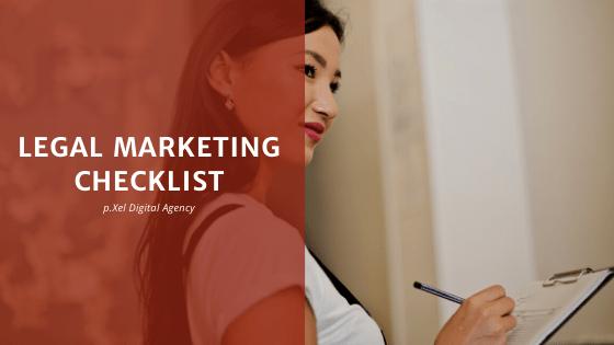 legal marketing checklist