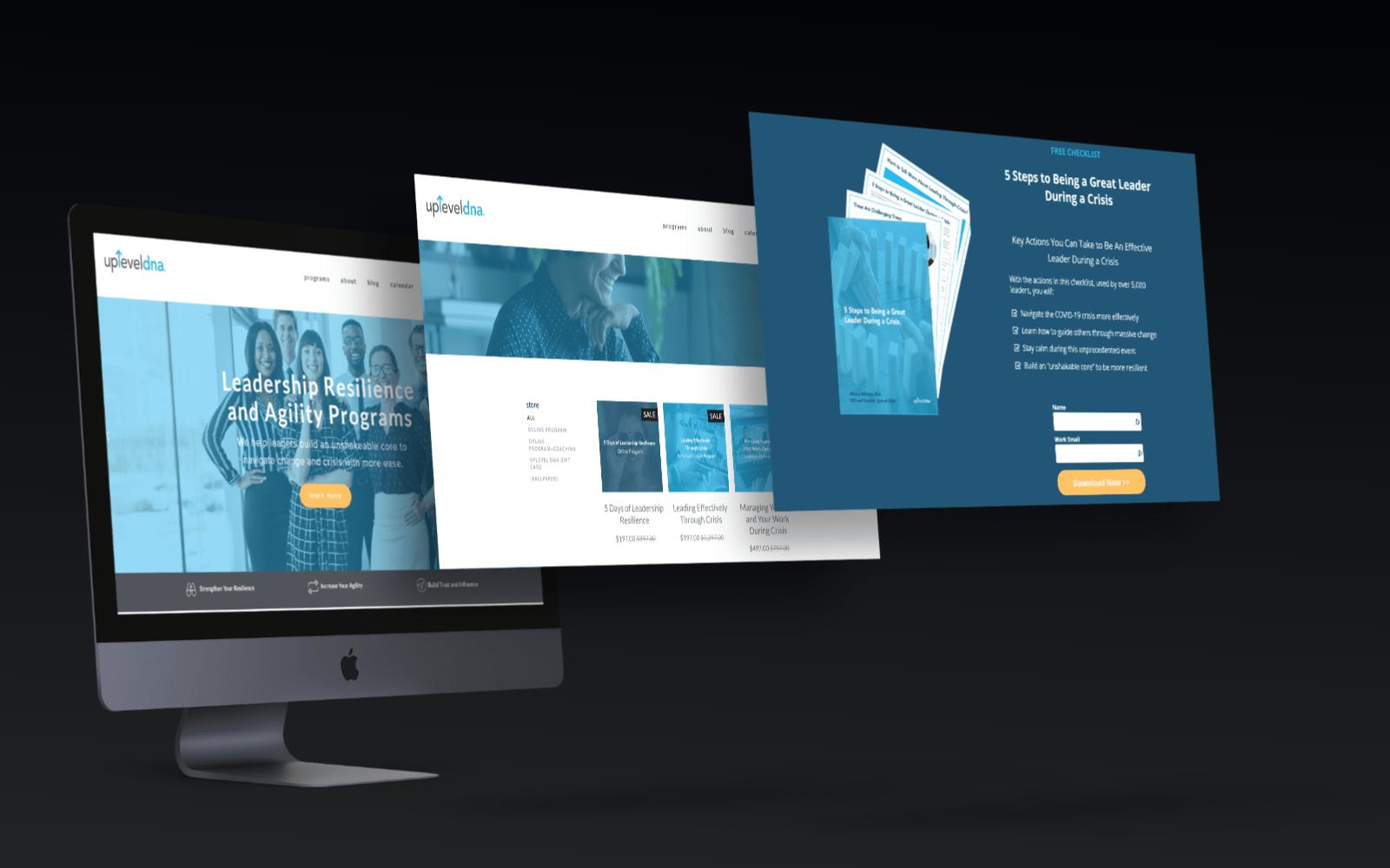 upleveldna website and marketing automation services