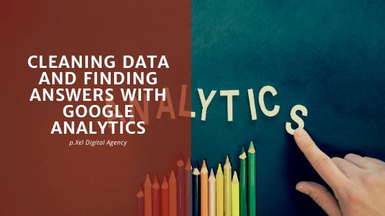 data cleaning google analytics