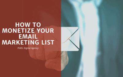 How to monetize your email marketing list